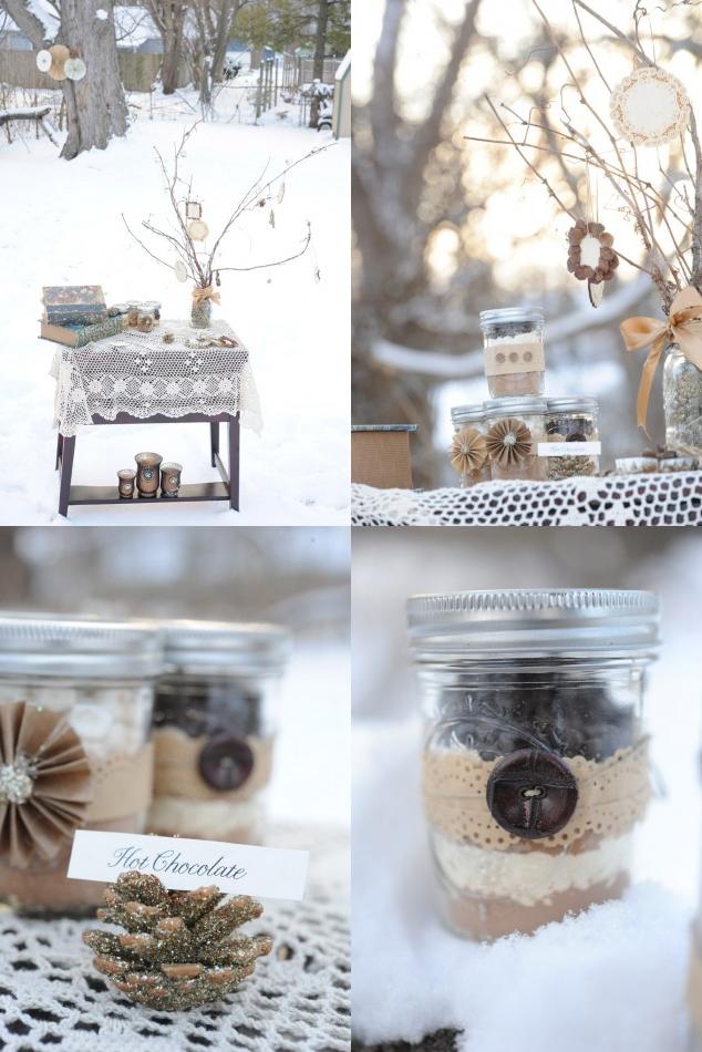 Gastgeschenk, Winter, Schokolade, Natur