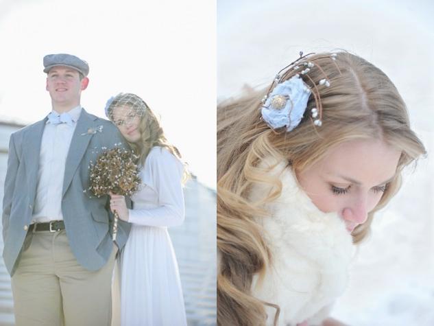 Etwas Blaues, Brautstyling, Anzugf Bräutigam