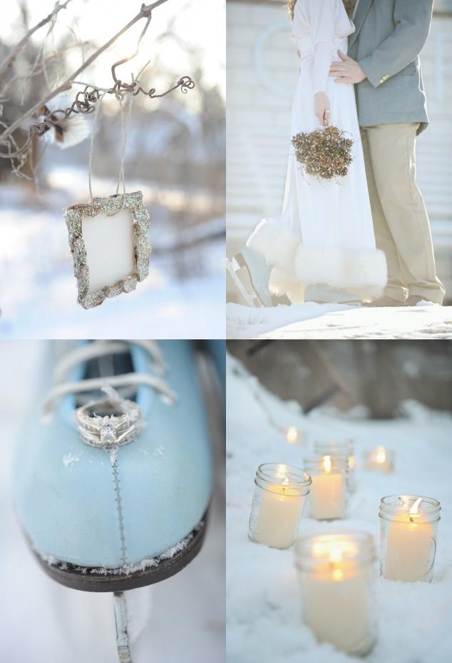 Brautstrauss, Dekoration, Etwas Blaues