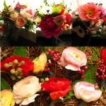 Blumenschmuck wie gemalt
