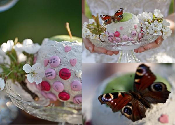 Hochzeit, Süßigkeiten, Dekoration, Frühling