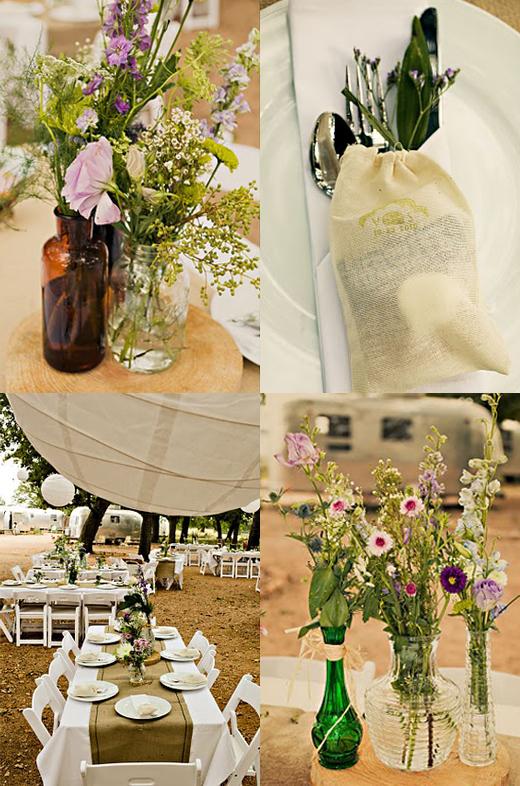 Hochzeit Natur Camping