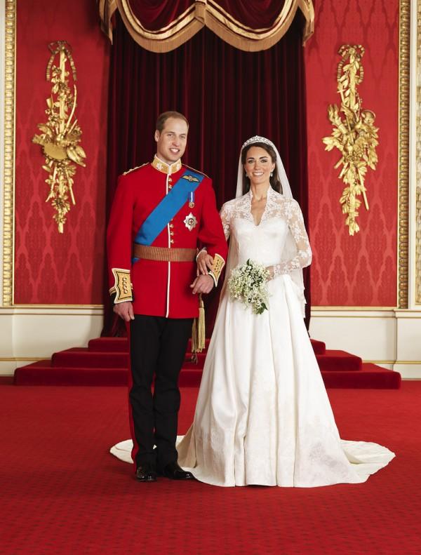 Hochzeitsfoto, William und Kate