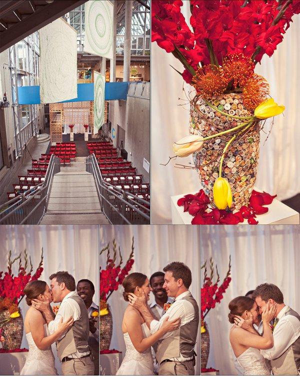 Trauung, Kirchendekoration, Blumenschmuck, Blumen