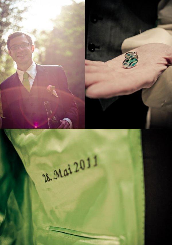Hochzeit, Bräutigam, Anzug