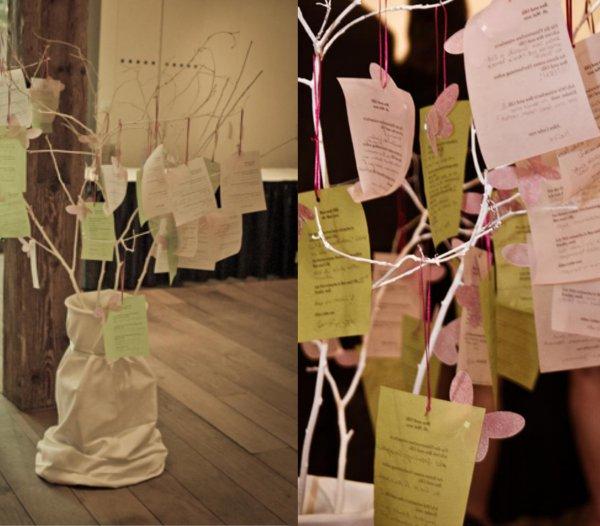Hochzeit, Gästebuch, Wishingtree