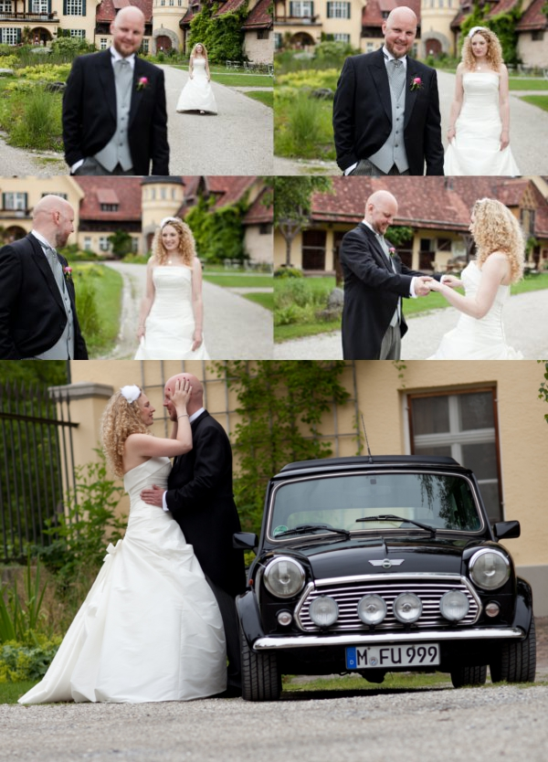 Hochzeit, First Look, Paarfoto