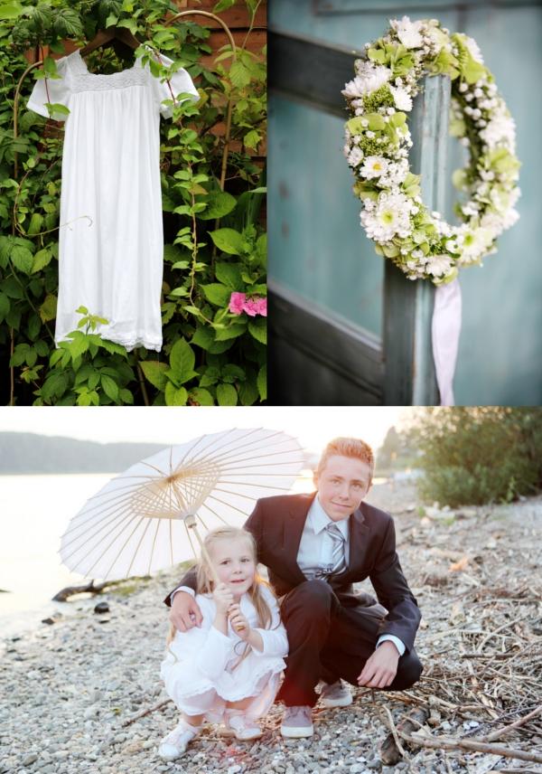 Blumenkind, Blumenmädchen, Blütenkranz