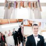 Laura & Craig – moderne Hochzeit mit geometrischen Formen