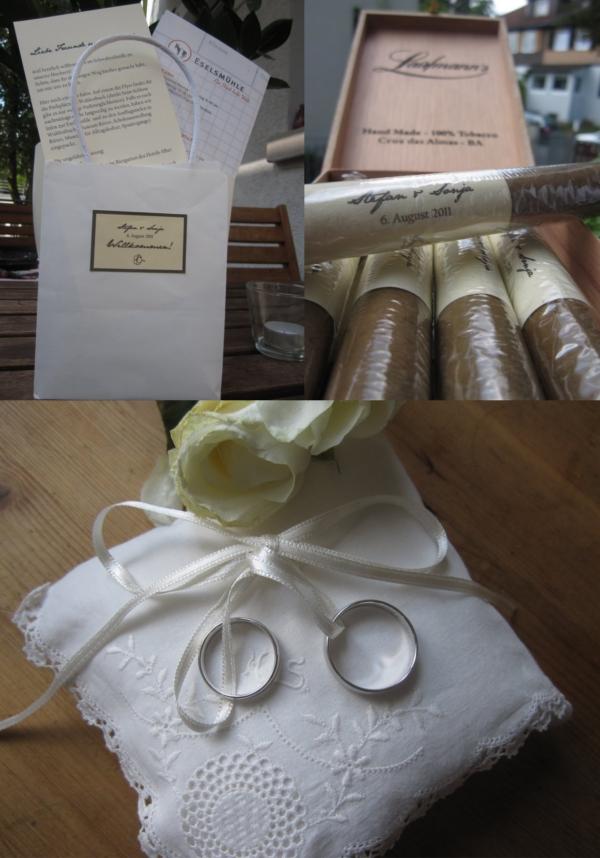 Hochzeit, Details