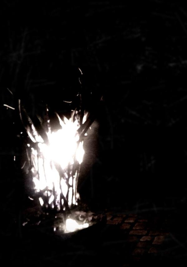 Hochzeit, Feuerkorb, Dekoration