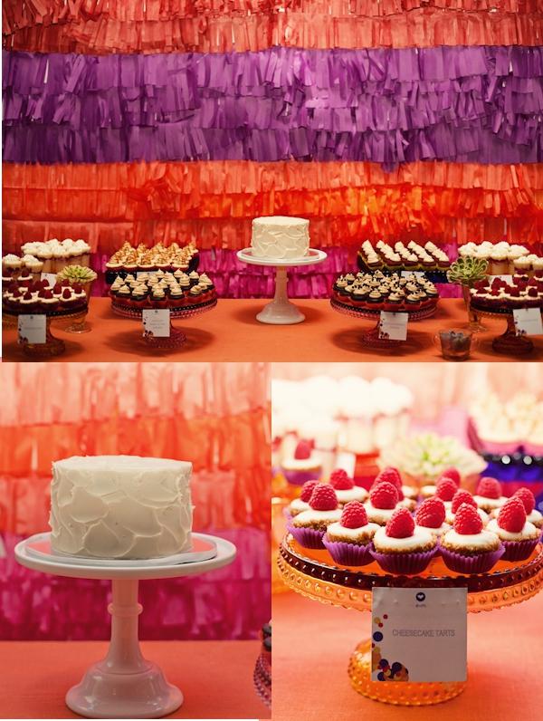 Hochzeit, Dessertbuffet