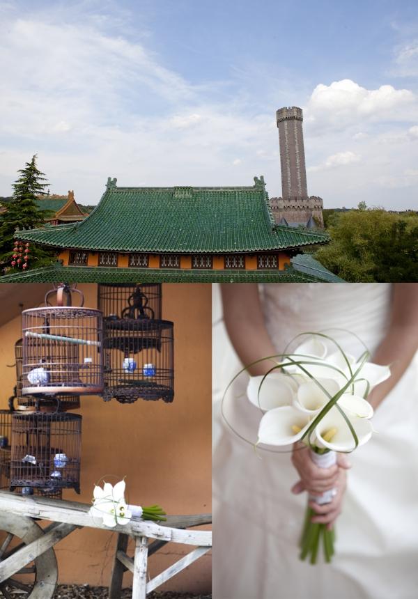Brautstrauß, Calla, Phantasialand Hochzeiten