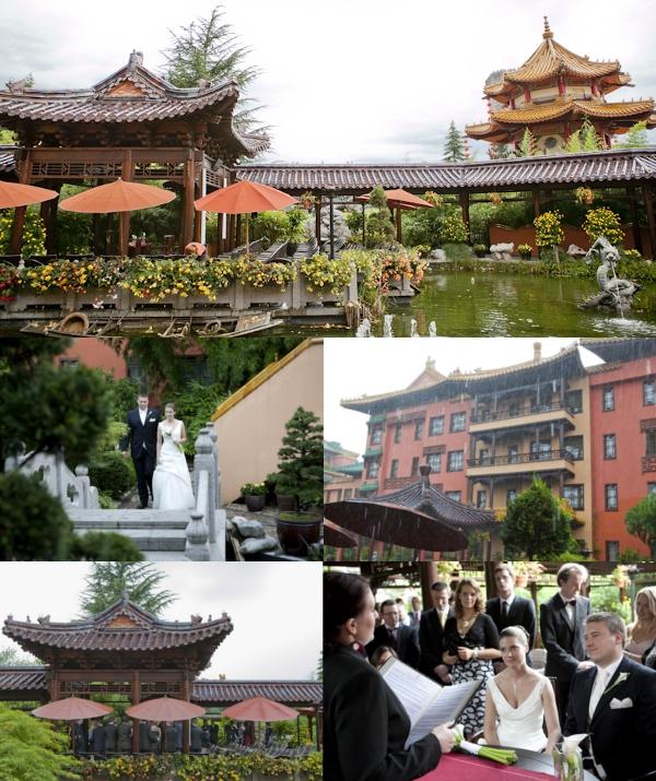 Hochzeit, standesamtliche Trauung, Phantasialand