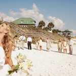 Morgan & Wes – Vintage-Hochzeit am Strand