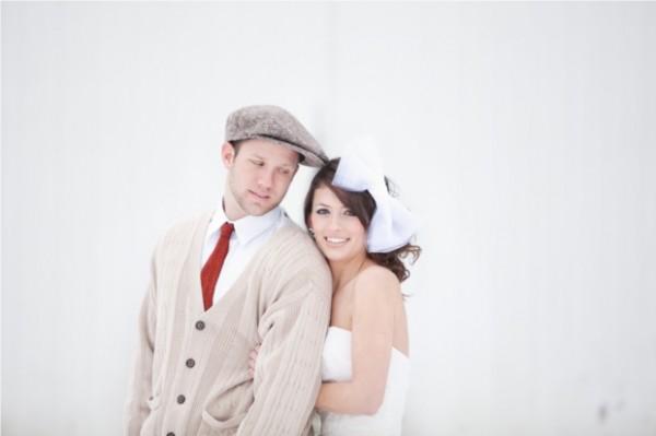 Hochzeitsfoto, vintage