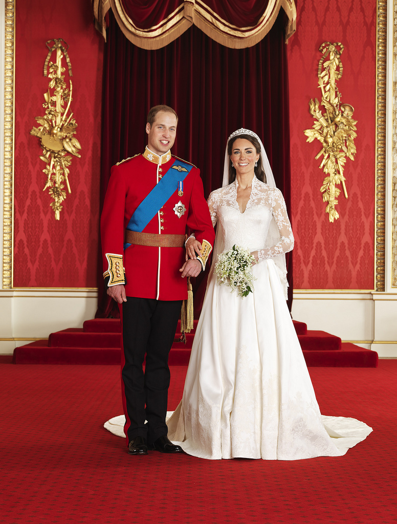 Hochzeitsfoto, Royal Wedding, William & Kate