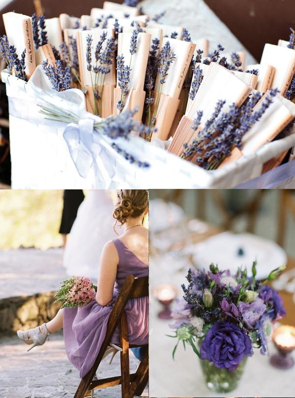 lila, Hochzeit, Hochzeitsfarbe lila,