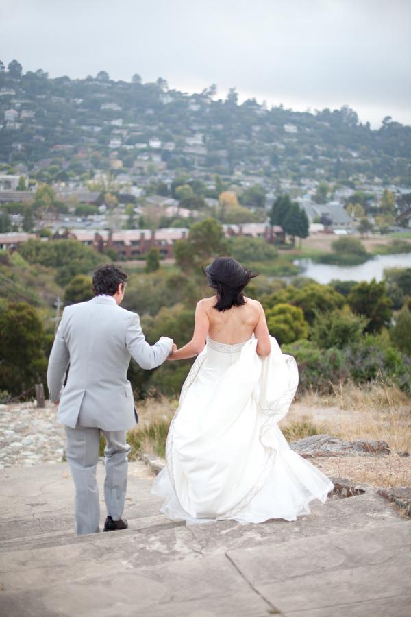 Hochzeit, get away, Abgang