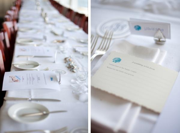 Hochzeit, Tischdeko, maritim