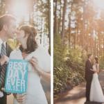 DIY-Hochzeit im Wald – Kimberlee & Eric