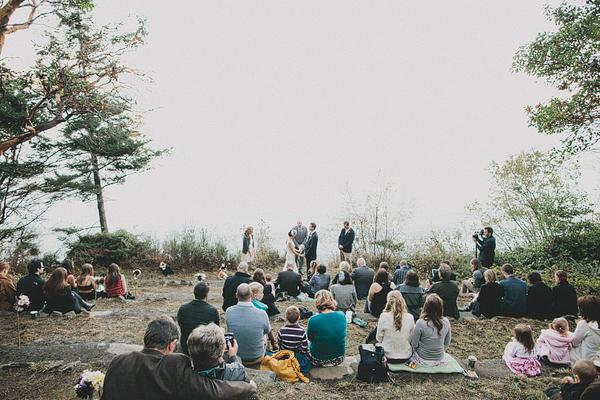 Hochzeit, Trauung im Wald