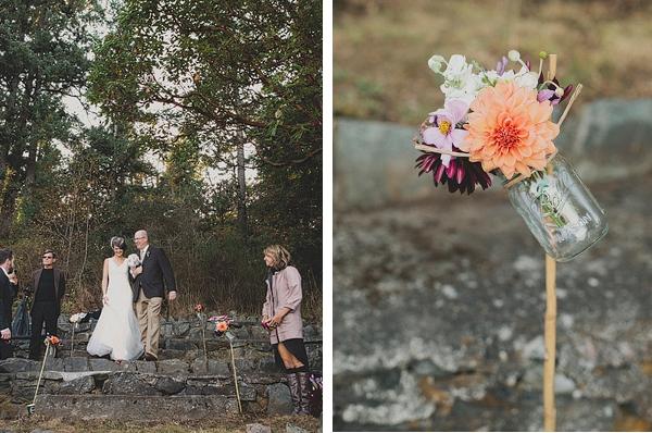 Einzug zur DIY-Hochzeit im Wald | Verrueckt nach Hochzeit
