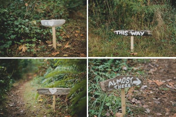 Wegweiser zur DIY-Hochzeit im Wald |Verrückt nach Hochzeit