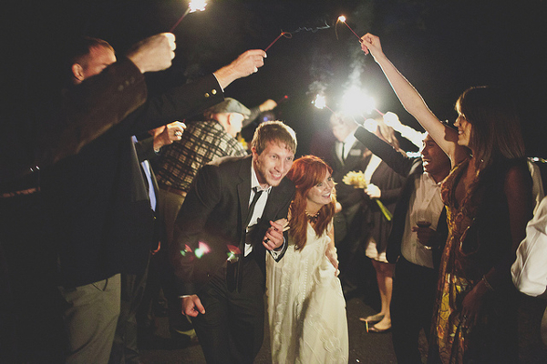 Brautpaar, Auszug, Getaway