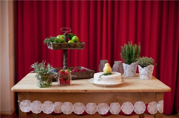 Kuchenbuffet, Hochzeit