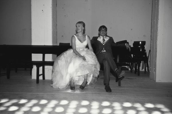 Brautpaar am Abend, Zweisamkeit