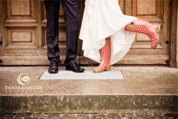 Hochzeit, Schuhe, Regen