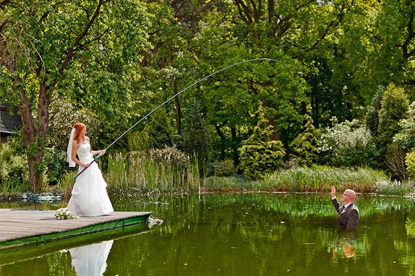 Hochzeit, Brautpaar, Trash the Dress