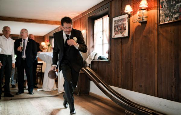 Hochzeit, Bräutigam, Programm, Kegeln