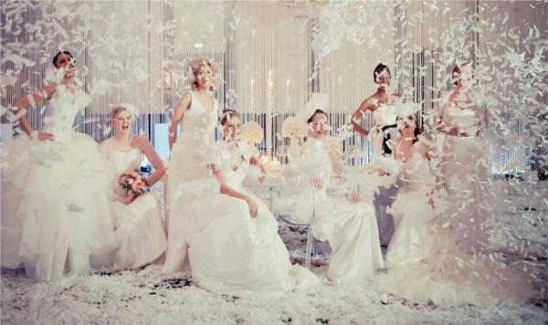 Brautkleider, Anne Wolf, Hochzeitssalon Berlin 2012, Berlin Weddings