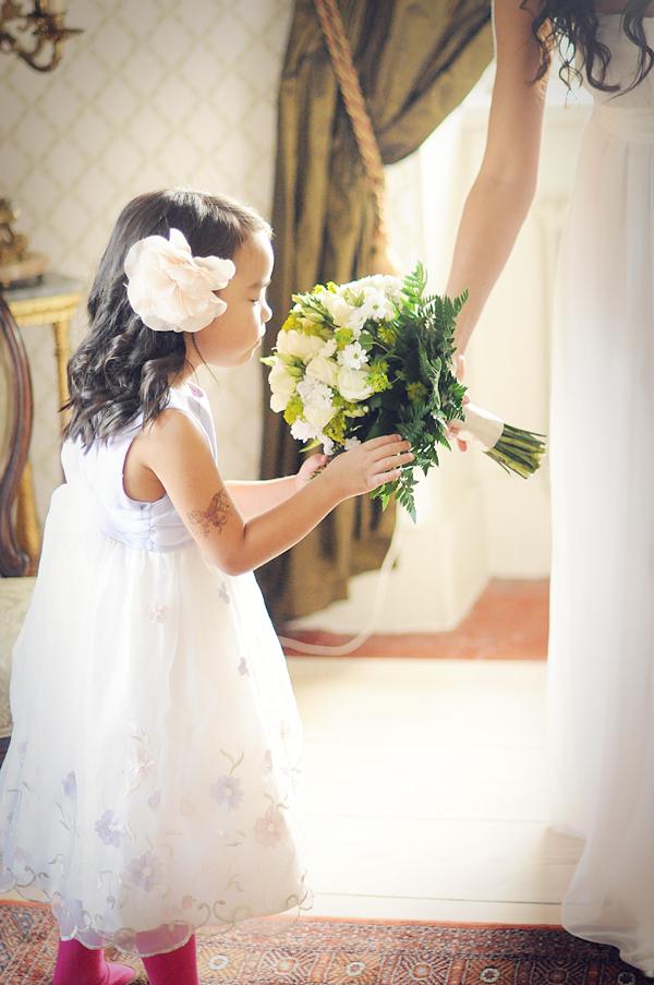 Blumenmädchen, Hochzeit, Bouquet