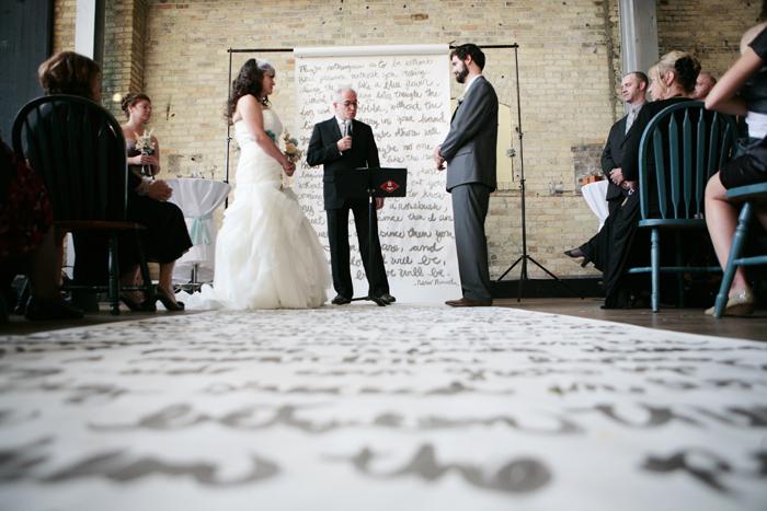 Hochzeit, Brautpaar, Ztauung, Hintergrund Deko