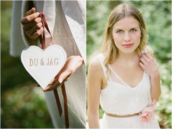 Braut, Herz, Schwedisch, du & ich