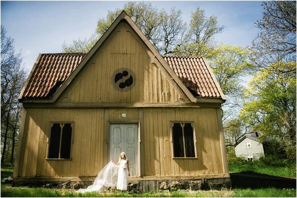Hochzeit, Schweden, Frühling, Braut
