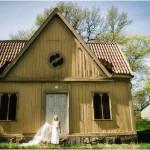 Braut im schwedischen Frühling – Inspirationsshooting von Claire Morgan