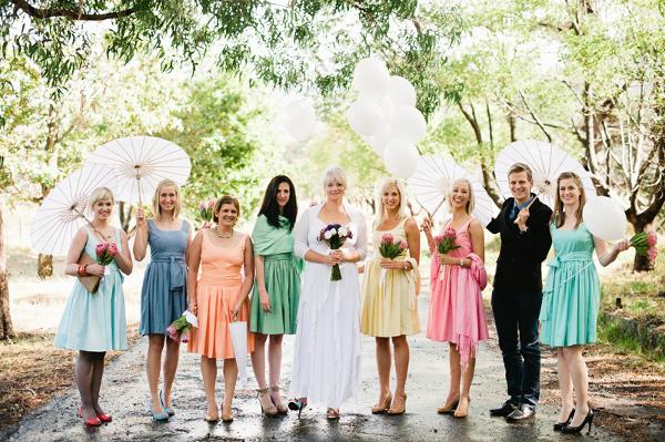 Hochzeit, Trauzeuginnen