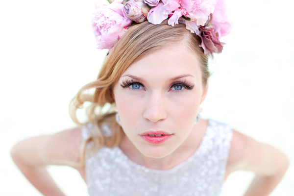 Daniela Prusina, Verrückt nach Hochzeit, Glitter, Blumen im Haar
