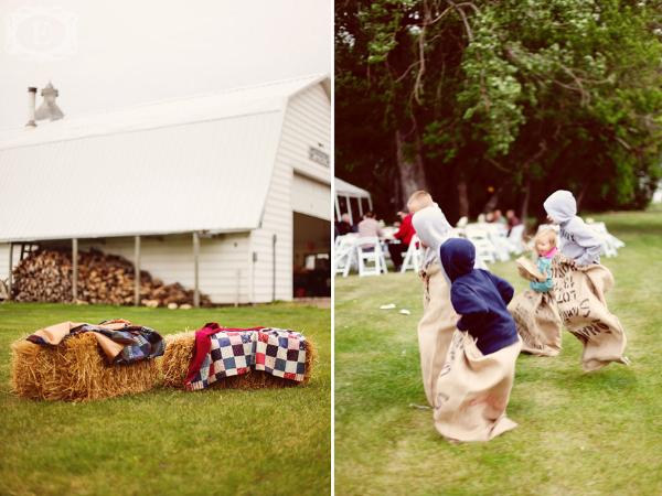 Hochzeit, Landhochzeit, Scheunenhochzeit, Kinderprogramm