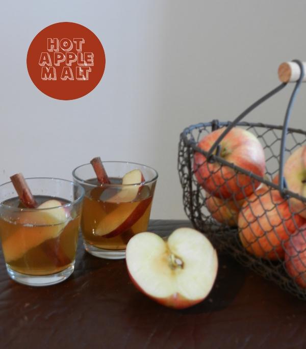 Begrüßungsdrink, Whisky, Cider, Apfel, Herbst