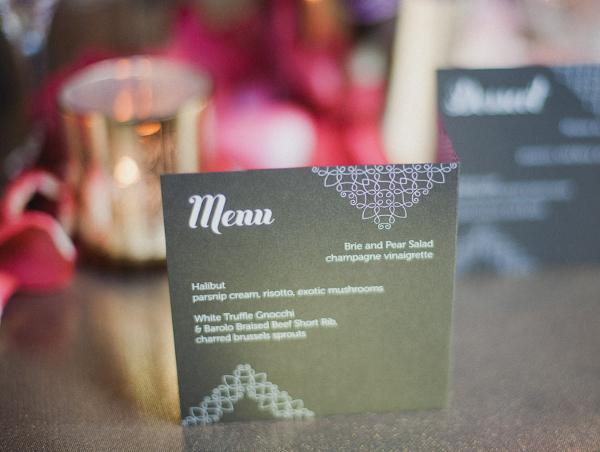 Hochzeit, Menuekarte, Inspiration, Munich Disco