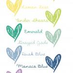 Hochzeitsfarben für das nächste Jahr