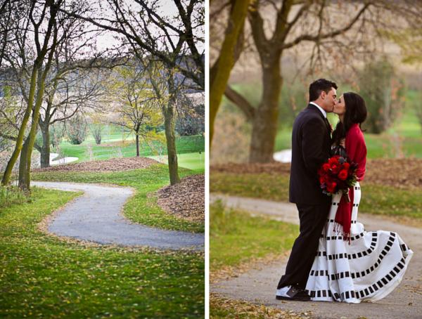 Verrückt nach Hochzeit, Halloween, Herbst, Hochzeit, Brautpaar, Spaziergang