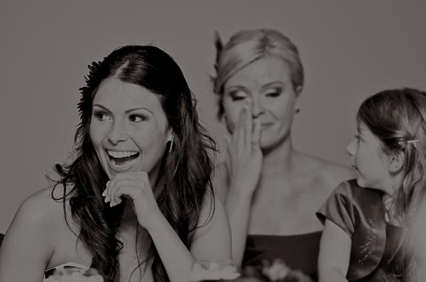 Hochzeit, Reportage, Brautjungfer weint