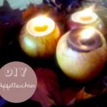 DIY für eure Herbsthochzeit – Apfelleuchter