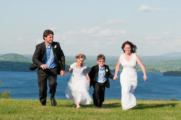 Hochzeit, Familienfoto